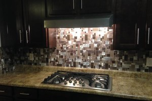Photo #2: Backsplash And Floor Tile Installed by Kevin