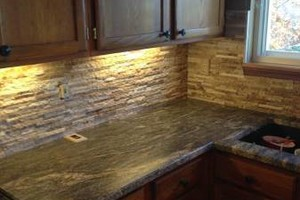 Photo #7: Backsplash And Floor Tile Installed by Kevin