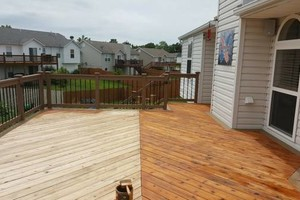 Photo #22: Deck building, staining, and reconditioning