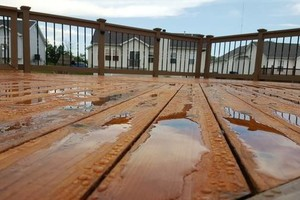 Photo #21: Deck building, staining, and reconditioning