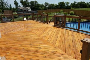 Photo #20: Deck building, staining, and reconditioning