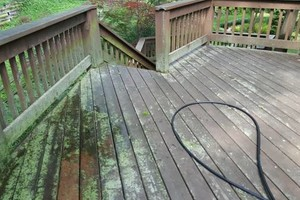 Photo #18: Deck building, staining, and reconditioning