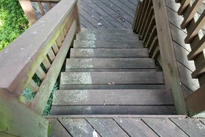 Photo #17: Deck building, staining, and reconditioning
