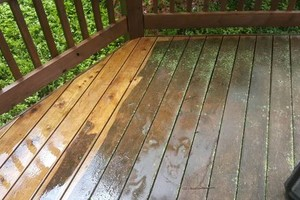 Photo #14: Deck building, staining, and reconditioning