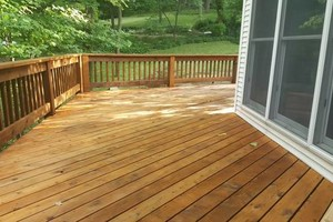 Photo #12: Deck building, staining, and reconditioning