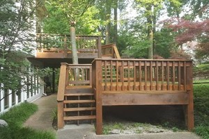 Photo #11: Deck building, staining, and reconditioning