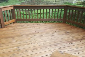 Photo #9: Deck building, staining, and reconditioning