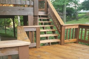 Photo #8: Deck building, staining, and reconditioning