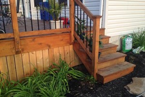 Photo #7: Deck building, staining, and reconditioning
