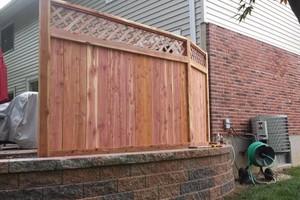 Photo #1: Abbey Fence - Wood Fence Installation