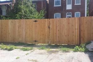 Photo #2: Abbey Fence - Wood Fence Installation