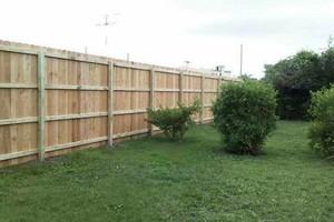 Photo #3: Abbey Fence - Wood Fence Installation