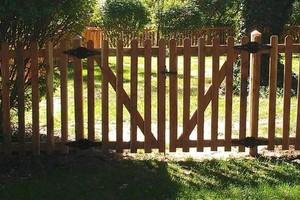 Photo #5: Abbey Fence - Wood Fence Installation