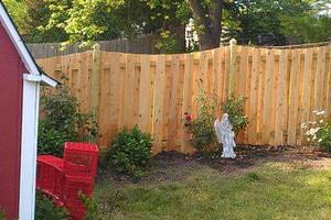 Photo #7: Abbey Fence - Wood Fence Installation