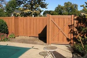 Photo #8: Abbey Fence - Wood Fence Installation
