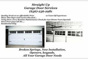 Photo #5: Garage Door Spring Broke? No problem - cheap fix!