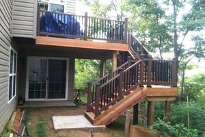 Photo #1: Custom Decks & Repairs LLC. WITH PICTURES! Deck Builder