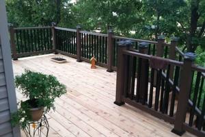 Photo #2: Custom Decks & Repairs LLC. WITH PICTURES! Deck Builder