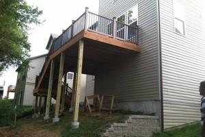 Photo #3: Custom Decks & Repairs LLC. WITH PICTURES! Deck Builder