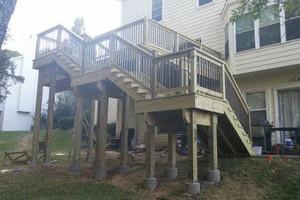 Photo #4: Custom Decks & Repairs LLC. WITH PICTURES! Deck Builder