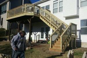 Photo #7: Custom Decks & Repairs LLC. WITH PICTURES! Deck Builder