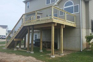 Photo #8: Custom Decks & Repairs LLC. WITH PICTURES! Deck Builder