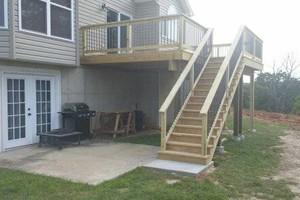Photo #9: Custom Decks & Repairs LLC. WITH PICTURES! Deck Builder
