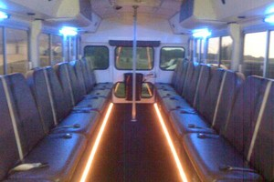 Photo #1: Limo/party bus $95/h/ 24passenger