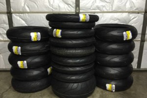 Photo #1: Motorcycle Tire Change Service & More