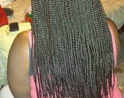Photo #8: $85 Box Braids, $100 Senegalese twist!