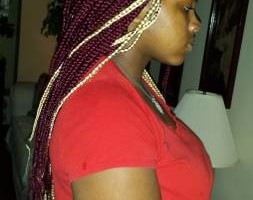 Photo #6: $85 Box Braids, $100 Senegalese twist!