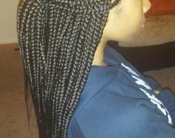 Photo #3: $85 Box Braids, $100 Senegalese twist!