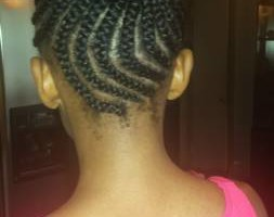 Photo #1: $85 Box Braids, $100 Senegalese twist!