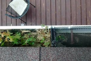 Photo #3: Gutter cleaning, reapair, replacement. NO HIDDEN COST!!!