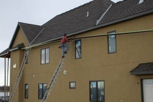 Photo #2: Gutter cleaning, reapair, replacement. NO HIDDEN COST!!!