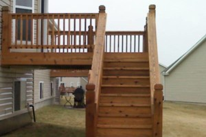 Photo #9: Deck & Fence Cleaning/ Stripping/ Staining/ Sealing