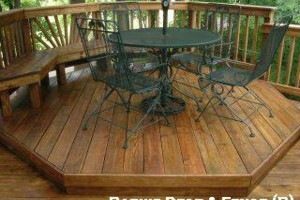 Photo #8: Deck & Fence Cleaning/ Stripping/ Staining/ Sealing
