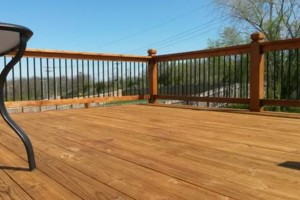 Photo #6: Deck & Fence Cleaning/ Stripping/ Staining/ Sealing