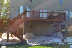 Photo #2: Deck & Fence Cleaning/ Stripping/ Staining/ Sealing