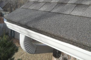 Photo #1: Granulated Gutter Guards. HANDLE EVERY GUTTERING!