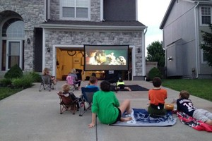 Photo #20: Rent a Video Projector & Screen $75.00 for Movie Night and Slide show