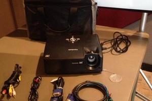 Photo #12: Rent a Video Projector & Screen $75.00 for Movie Night and Slide show