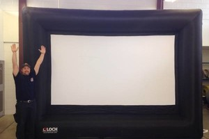 Photo #9: Rent a Video Projector & Screen $75.00 for Movie Night and Slide show
