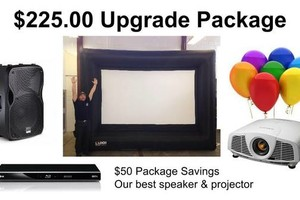 Photo #8: Rent a Video Projector & Screen $75.00 for Movie Night and Slide show