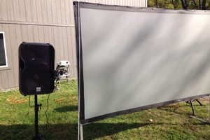 Photo #3: Rent a Video Projector & Screen $75.00 for Movie Night and Slide show