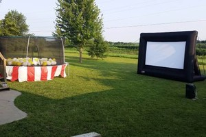 Photo #1: Rent a Video Projector & Screen $75.00 for Movie Night and Slide show