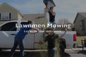 Photo #1: LAWNMEN Mowing, leaf clean up, lawn renovation