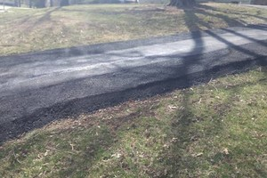 Photo #1: Asphalt KC. Parking Lot Maintenance, asphalt Sealcoating and parking lot striping
