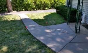 Photo #8: NICOLAISEN CONCRETE WORK - Replace or Repair - Driveways, Walks etc...