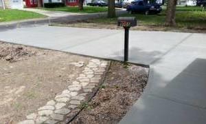Photo #5: NICOLAISEN CONCRETE WORK - Replace or Repair - Driveways, Walks etc...